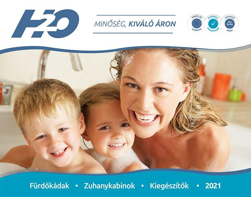 H2O Fürdőszoba katalógus